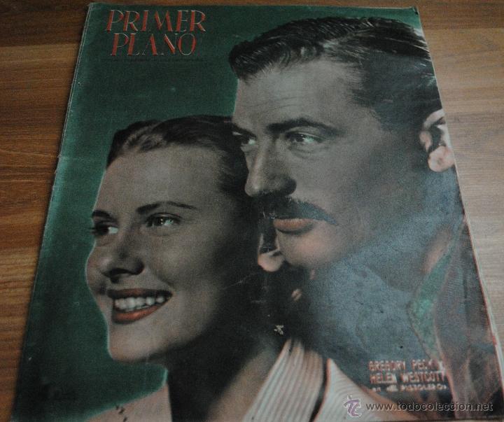 REVISTA PRIMER PLANO, MADRID 15 ABRIL 1951 AÑO XI Nº 548 GREGORY PECK, HELEN WESTCOTT (Cine - Revistas - Primer plano)