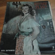 Cine: REVISTA PRIMER PLANO, MADRID 4 MARZO AÑO XI Nº 542 RITA HAYWORTH, GLENN FORD, ELEANOR POWELL. Lote 46732605