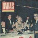 Cine: REVISTA ONDAS Nº 288, DIC 1964, ENTREGA DEL PREMIO ONDAS Y EL DÍA DE LA RADIO,ALBERTO OLIVERAS. Lote 52279081