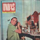 Cine: REVISTA ONDAS Nº 272 ABRIL 1964, SORAYA RENUNCIA AL TRATAMIENTO DE PRINCESA, CARMEN SEVILLA ES MADRE. Lote 46748780