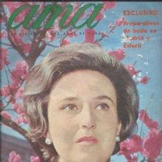 Cine: REVISTA AMA, LA REVISTA DE LAS AMAS DE CASA, Nº 176 ABRIL 1967, PILAR DE BORBÓN PREPARATIVOS BODA. Lote 46753671