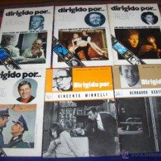 Cine: DIRIGIDO POR NºS 3 4 6 9 12 13. 1972. BERTOLUCCI MINNELLI JERRY LEWIS FELLINI ORSON WELLES BERLANGA.. Lote 46795603