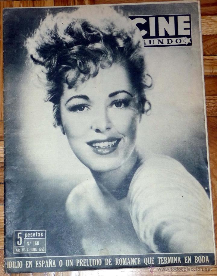 REVISTA CINE MUNDO Nº 168 4-6-1955 - ELEANOR PARKER (Cine - Revistas - Otros)