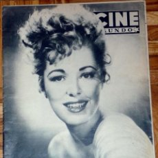 Cine: REVISTA CINE MUNDO Nº 168 4-6-1955 - ELEANOR PARKER. Lote 46824033