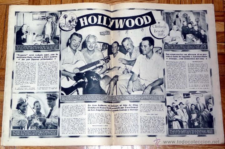 Cine: REVISTA CINE MUNDO Nº 168 4-6-1955 - ELEANOR PARKER - Foto 2 - 46824033