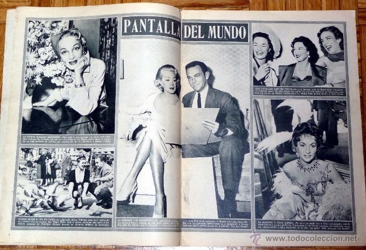 Cine: REVISTA CINE MUNDO Nº 168 4-6-1955 - ELEANOR PARKER - Foto 3 - 46824033