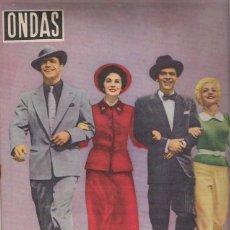 Cine: ONDAS -PORTADA -MARLON BRANDO -FRANK SINATRA-DE DE LA PELICULA ELLOS Y ELLAS-. Lote 46886443