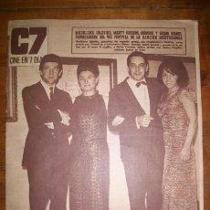 Cinema: C7 : CINE EN 7 DÍAS. AÑO V. NÚM. 288 ; 15 DE OCTUBRE DE 1966. Lote 46956885