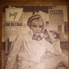 Cinema: C7 : CINE EN 7 DÍAS. AÑO VI. NÚM. 306 ; 18 DE FEBRERO DE 1967. Lote 46956977