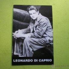 Cine: POSTAL LEONARDO DI CAPRIO LC 007 E.U.. Lote 47154979
