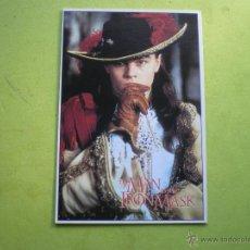 Cine: POSTAL THE MAN IN THE IRON MASK LEONARDO DI CAPRIO MG 208 ENGLAND. Lote 47155135