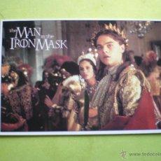 Cine: POSTAL THE MAN IN THE IRON MASK LEONARDO DI CAPRIO MG 2009 ENGLAND.. Lote 47155146