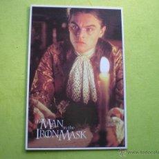 Cine: POSTAL THE MAN IN THE IRON MASK LEONARDO DI CAPRIO MG 2006 ENGLAND.. Lote 47155156