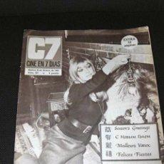 Cine: REVISTA CINE EN 7 DIAS MARISOL PORTADA EXTRA ESPECIAL 1967 ESPAÑA COMPLETO CINE. Lote 47161611