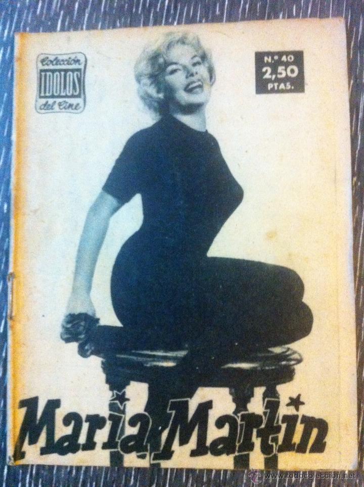 Cine: Lote 8 revista coleccion idolos del cine # 2,4,18, 25,40,43,46,76 Lola Flores, Sara Montiel, etc.. - Foto 2 - 47301408