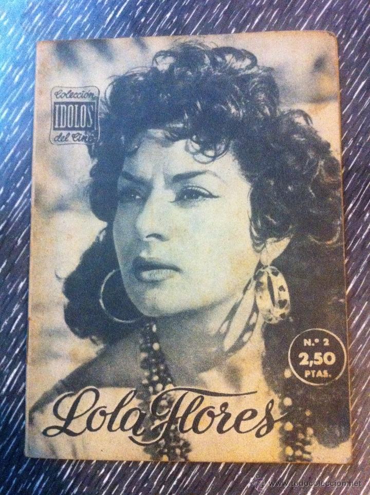 Cine: Lote 8 revista coleccion idolos del cine # 2,4,18, 25,40,43,46,76 Lola Flores, Sara Montiel, etc.. - Foto 3 - 47301408
