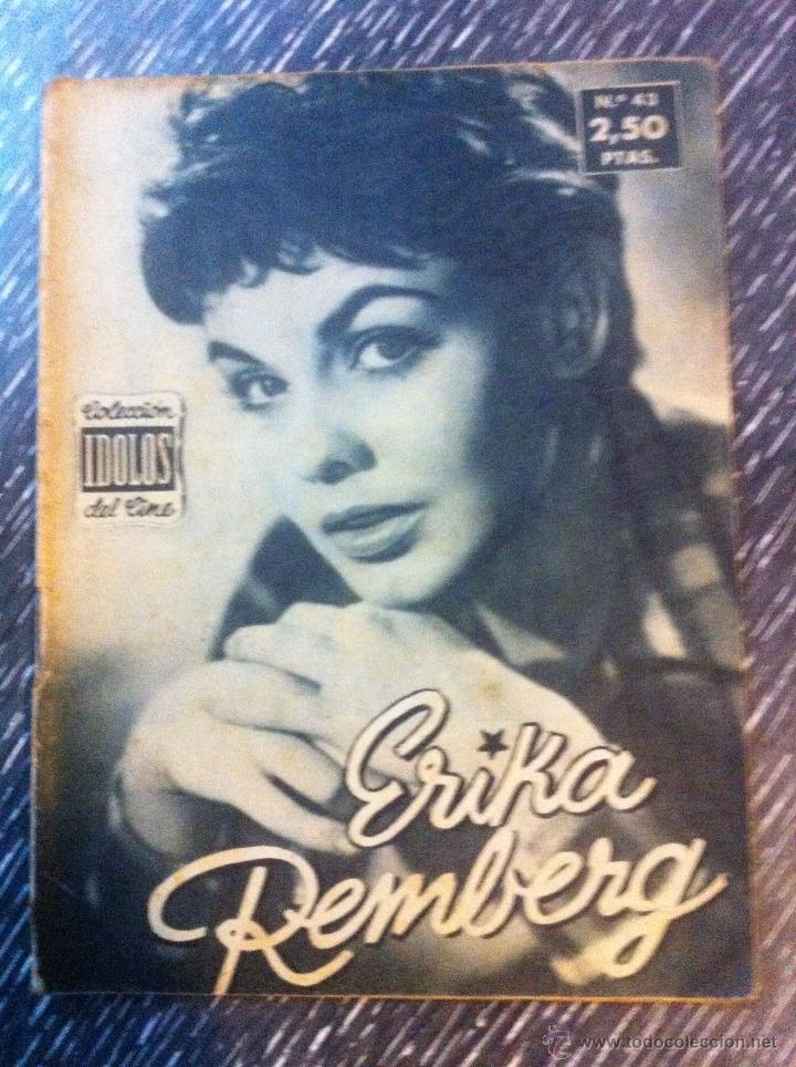Cine: Lote 8 revista coleccion idolos del cine # 2,4,18, 25,40,43,46,76 Lola Flores, Sara Montiel, etc.. - Foto 4 - 47301408