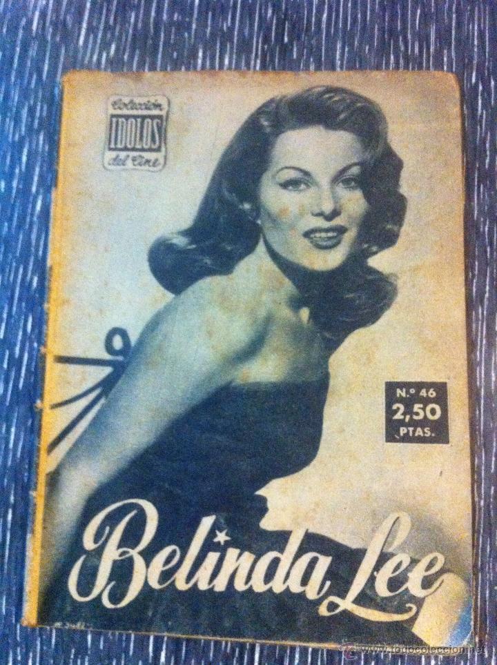 Cine: Lote 8 revista coleccion idolos del cine # 2,4,18, 25,40,43,46,76 Lola Flores, Sara Montiel, etc.. - Foto 5 - 47301408