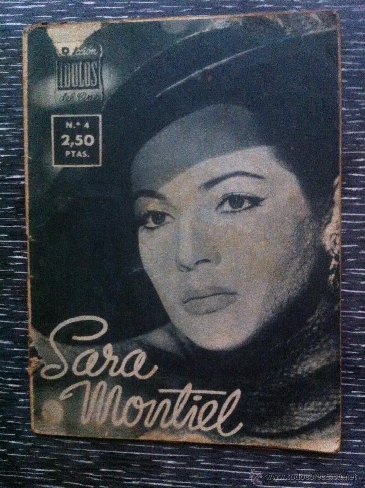 Cine: Lote 8 revista coleccion idolos del cine # 2,4,18, 25,40,43,46,76 Lola Flores, Sara Montiel, etc.. - Foto 6 - 47301408