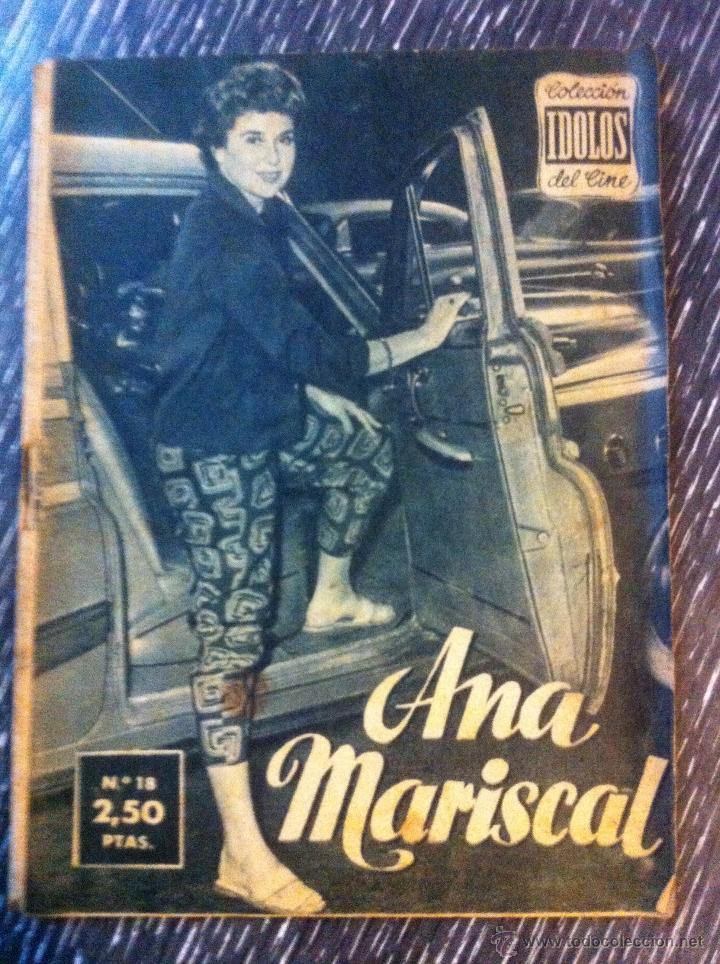 Cine: Lote 8 revista coleccion idolos del cine # 2,4,18, 25,40,43,46,76 Lola Flores, Sara Montiel, etc.. - Foto 7 - 47301408