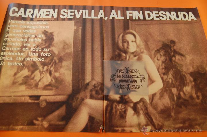 Pon Precio Si Oferta Razonable Es Tuyo 1980 Carmen Sevilla Se Desnuda Por Fin 3 Paginas