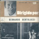 Cine: DIRIGIDO POR NÚMERO 3: BERNARDO BERTOLUCCI. DICIEMBRE 1972. Lote 47347671