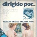 Cine: DIRIGIDO POR...NÚMERO 23: FRANCESCO ROSI. MAYO 1975. Lote 47348207