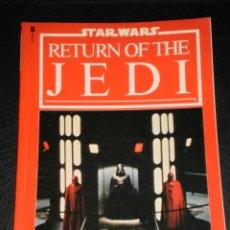 Cine: STAR WARS-THE RETURN OF THE JEDI – EL STORYBOOK BASADO EN LA PELICULA – 1983 - IDIOMA INGLES. Lote 47365565