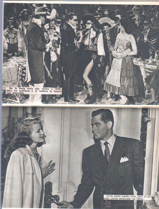 Cine: EL LIBRO DE LA PELICULA Nº 1 GILDA , LUIS DE CARALT 1951- RITA HAYVORTH, GLENN FORD, GEORGE McREADY - Foto 7 - 152030366