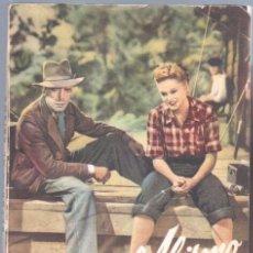 Cine: EL LIBRO DE LA PELICULA Nº 3 RETORNO AL ABISMO , LUIS DE CARALT 1951- HUMPREY BOGART, ALEXIS SMITH. Lote 47526721