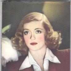 Cine: EL LIBRO DE LA PELICULA Nº 5 UNA VIDA ROBADA,LUIS DE CARALT 1951-BETTE DAVIS, GLENN FORD, DANE CLARK. Lote 266014818