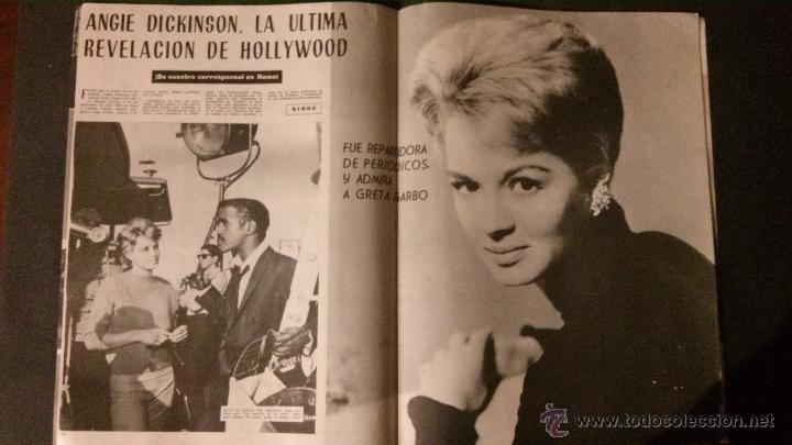 REVISTA DE CINE RADIOCINEMA Nº 474-1961-ANGIE DICKINSON-ANOUK AIMEE-ALAIN DELON-PACO RABAL- (Cine - Revistas - Radiocinema)