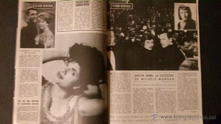 Cine: REVISTA DE CINE RADIOCINEMA Nº 474-1961-ANGIE DICKINSON-ANOUK AIMEE-ALAIN DELON-PACO RABAL- - Foto 2 - 47581822