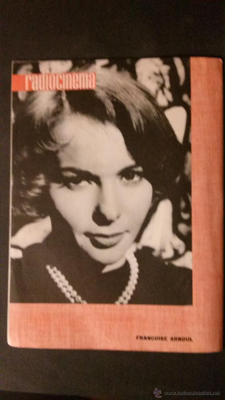 Cine: REVISTA DE CINE RADIOCINEMA Nº 474-1961-ANGIE DICKINSON-ANOUK AIMEE-ALAIN DELON-PACO RABAL- - Foto 6 - 47581822