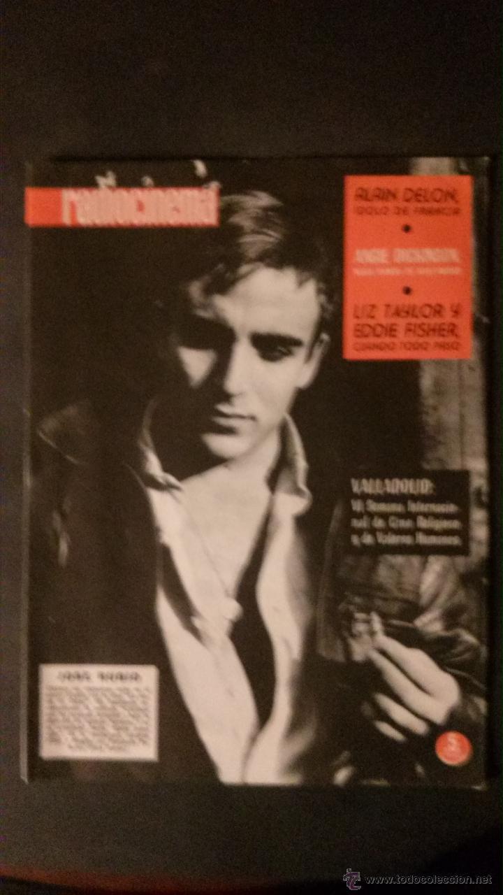 Cine: REVISTA DE CINE RADIOCINEMA Nº 474-1961-ANGIE DICKINSON-ANOUK AIMEE-ALAIN DELON-PACO RABAL- - Foto 7 - 47581822