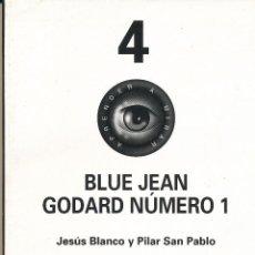 Cine: JESÚS BLANCO Y PILAR SAN PABLO, BLUE JEAN GODARD NÚMERO 1, APRENDER A MIRAR, 4, CAJA ESPAÑA. Lote 47637764