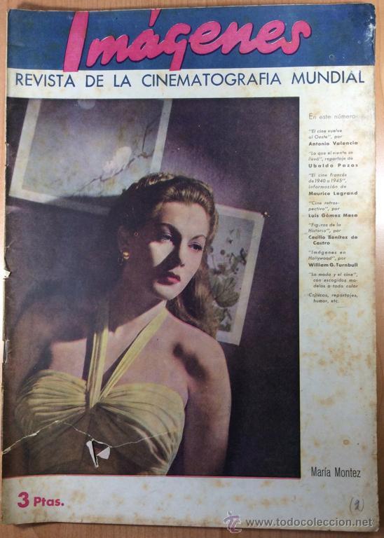 IMÁGENES - REVISTA DE CINE - NÚMERO 2 - MAYO 1945 (Cine - Revistas - Otros)