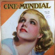 Cine: CINE MUNDIAL - REVISTA DE CINE - VOL. XXI - NÚMERO 7 - JULIO 1936 - JEAN MUIR. Lote 47658878