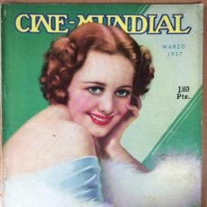 Cine: CINE MUNDIAL - REVISTA DE CINE - VOL. XXII - NÚMERO 3 - MARZO 1937 - OLIVIA HAVILLAND. Lote 47659292