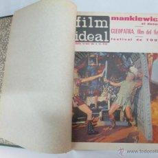 Cine: REVISTA FIM IDEAL ENCUADERNADA, 1964, 24 REVISTAS, VER FOTOS, NUMEROS DEL 135 AL 158,. Lote 47659394