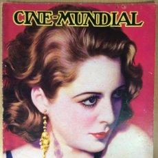 Cine: CINE MUNDIAL - REVISTA DE CINE - VOL. XVIII - NÚMERO 9 - SEPTIEMBRE 1933 - BILLIE DOVE. Lote 47659414