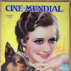 Cinema: CINE MUNDIAL - REVISTA DE CINE - VOL. XX - NÚMERO 2 - FEBRERO 1935 - IRENE DUNNE. Lote 47659503
