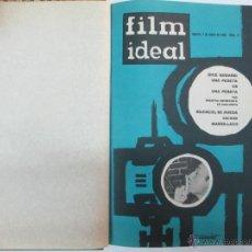 Cine: REVISTA FIM IDEAL ENCUADERNADA, 1963, 24 REVISTAS, VER FOTOS, NUMEROS DEL 111 AL 133,. Lote 47659546
