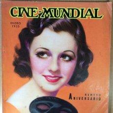 Cine: CINE MUNDIAL - REVISTA DE CINE - VOL. XX - NÚMERO 1 - ENERO 1935 - ANIVERSARIO - MARGARET SULLAVAN. Lote 47659568