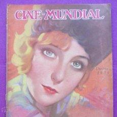 Cine: REVISTA CINE, CINE - MUNDIAL, DICIEMBRE 1929, DIANE ELLIS, RC6. Lote 47660438