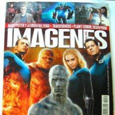 Cine: REVISTA DE CINE IMAGENES-AGOSTO 2007-LOS 4 FANTASTICOS-HARRY POTTER Y LA ORDEN DEL FENIX-TRANSFORMER. Lote 47773471