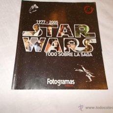 Cine: STAR WARS TODO SOBRE LA SAGA 1977 - 2005. Lote 47855700