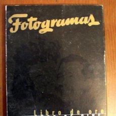 Cine: COLECIONABLE FOTOGRAMAS. LIBRO DE ORO 50 AÑOS DE CINE, CARPETA CON 5 FASCICULOS. Lote 47904244