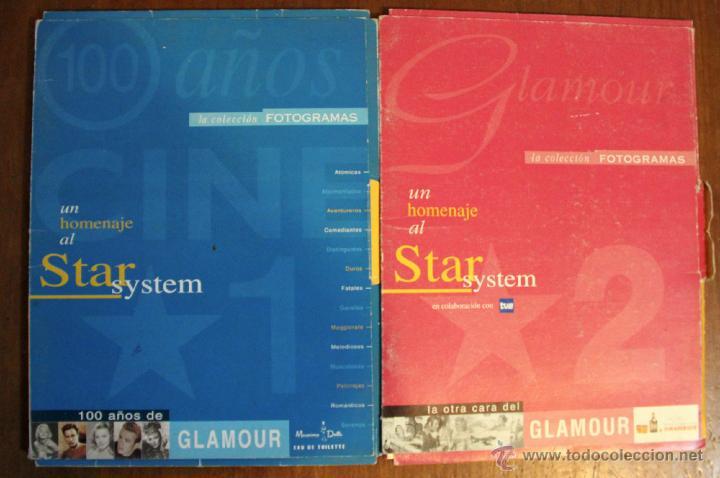 COLECCIONABLE FOTOGRAMAS. GLAMOUR 1 Y 2 (Cine - Revistas - Fotogramas)