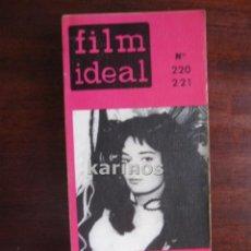Cine: FILM IDEAL Nº 220-221. ESPECIAL PECKINPAH. TRUFFAUT. CINE CANADIENSE. MEJORES DE LOS 60 C2. Lote 54203202